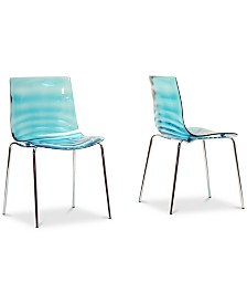 Nohea Mod Dining Chair (Set of 2), Quick Ship