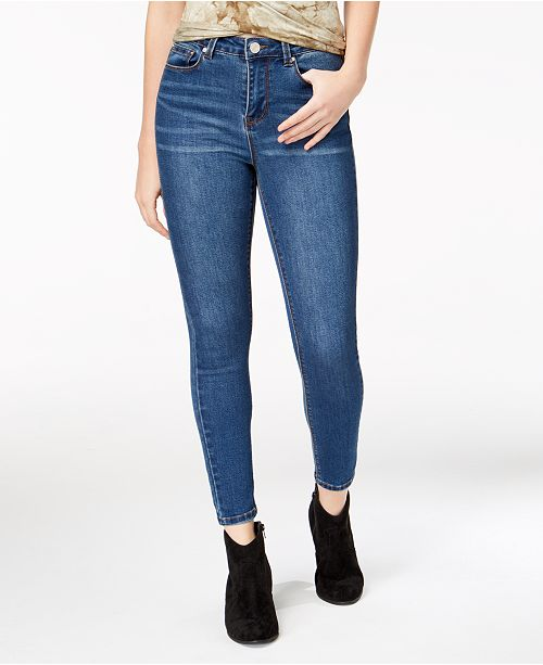 54a84f8c9e685 Indigo Rein Juniors  High Rise Skinny Ankle Jeans   Reviews - Jeans ...