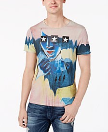 GUESS Men's Star Girl Graphic T-Shirt