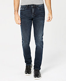 GUESS Men's Slim-Fit Tapered-Leg Stretch Jeans