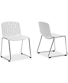 Jezzelia Dining Chair (Set of 2), Quick Ship