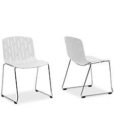 CLOSEOUT! Jezzelia Dining Chair (Set of 2), Quick Ship