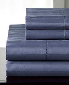 Andiamo Stripe Cotton 500 Thread Count 4-Pc. California King Sheet Set