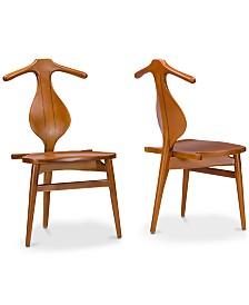 CLOSEOUT! Marcylla Dining Chair (Set of 2), Quick Ship