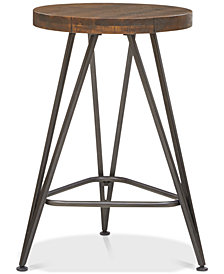 Trestle Counter Stool, Quick Ship