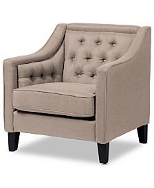 Anneyce Arm Chair, Quick Ship