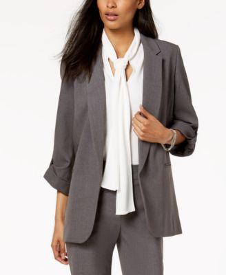 Stretch Open-Front Jacket