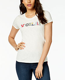 Maison Jules Voila! Graphic-Print T-Shirt, Created for Macy's