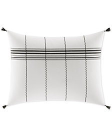 ED Ellen Degeneres Alta Striped Tassel Breakfast Decorative Pillow