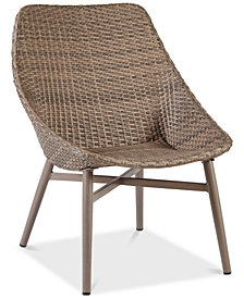 Gwen Outdoor Accent Chair (Set Of 2), Quick Ship
