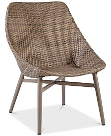 Jayce Outdoor Accent Chair (Set Of 2), Quick Ship