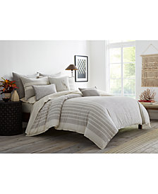 ED Ellen Degeneres Claremont Grey King Duvet Cover