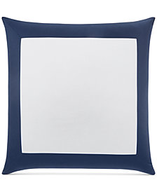 Charter Club Damask Designs Colorblock European Sham, Created for Macy's