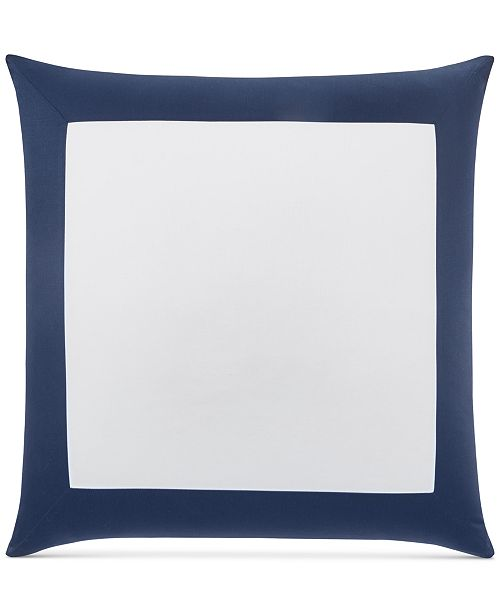 Charter Club CLOSEOUT! Colorblock European Sham, Created for Macy's