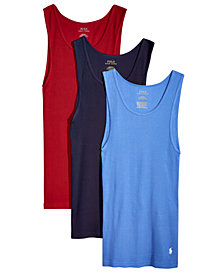 Polo Ralph Lauren Men's 3-Pk. Classic Tank Tops