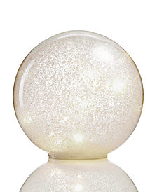 "Holiday Lane 7"" Ball with LED Twinkle Light, Created for Macy's"