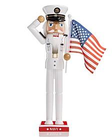 Navy Nutcracker, Created for Macy's