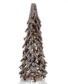 Martha Stewart Collection Wooden Tabletop Tree, Created for Macy's