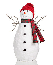 Holiday Lane Snowman Christmas Décor, Created for Macy's