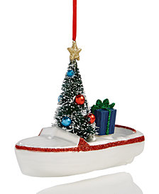 Holiday Lane Boat Ornament, Created for Macy's
