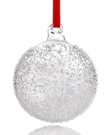 Shimmer and Light, Clear Iridescent Ball Ornament, Created for Macy's