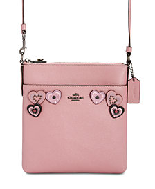 COACH Heart Messenger Crossbody