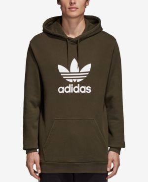 Adidas Originals Men S Originals Adicolor Og Hoodie Green Modesens