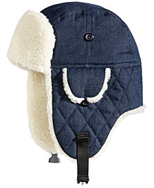 Woolrich Men's Denim Trooper Hat, Created for Macy's