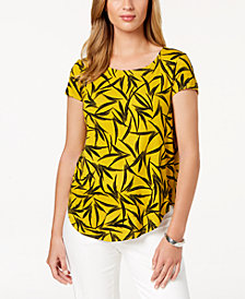 Alfani Printed T-Shirt, Created for Macy's