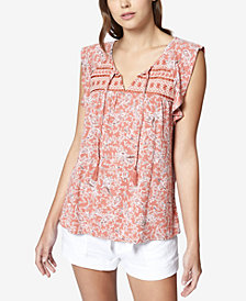 Sanctuary Wild Belle Embroidered Top