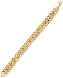 Sedusa Link Bracelet in 14k Gold