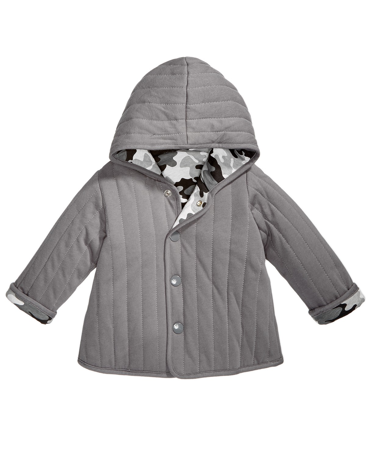 148df2b8c07d3 First Impressions Baby Boys Reversible Camo-Print Jacket $10.73 (Reg.  $36.00)