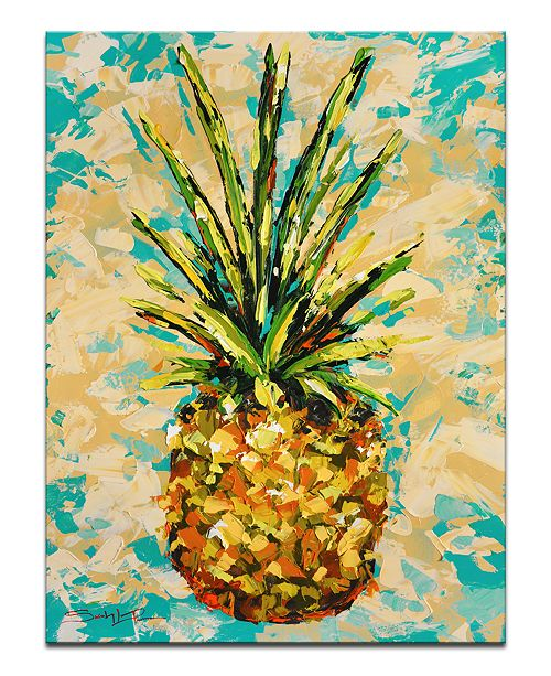 Ready2HangArt \'Fiesta Pineapple\' Canvas Wall Decor - Wall Art - Macy\'s
