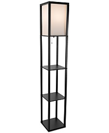 Lavish Home Etagere Floor Lamp