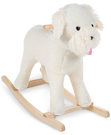 Trademark Global Happy Trails Sherman Schnoodle Rocking Dog