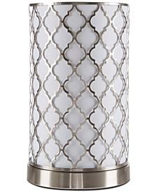Quatrefoil LED Table Lamp