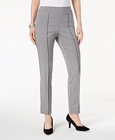 JM Collection Pull-On Skinny Pants, Created for Macy's