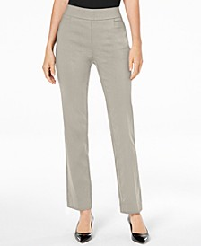 Pull-On Tummy Control Slim-Leg Pants, Created for Macy's