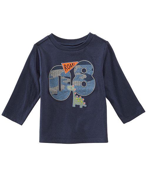 fc978851e First Impressions Baby Boys Varsity-Print Cotton T-Shirt