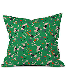 Deny Designs Holli Zollinger Anthology of Pattern Seville Garden Green Throw Pillow