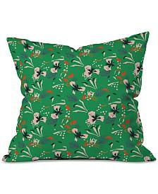 Deny Designs Holli Zollinger Anthology of Pattern Seville Garden Green Throw Pillow