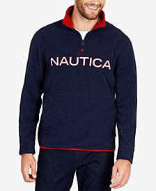 Nautica Logo Nautex Half-Zip Pullover Sweatshirt