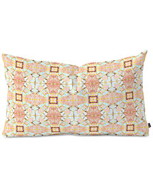 Deny Designs Marta Barragan Camarasa Geometric Mosaic Oblong Throw Pillow