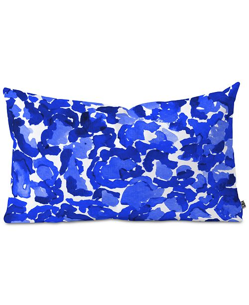 Deny Designs Rebecca Allen Dressed In Hue Oblong Throw Pillow