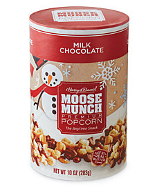 Harry & David's Milk Chocolate Moose Munch Gourmet Popcorn Holiday Canister