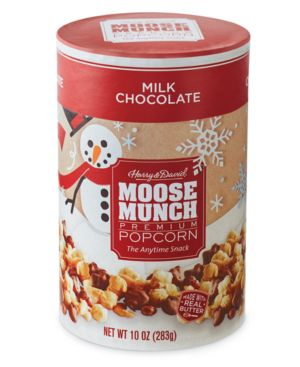 Harry & David Moose Munch Gourmet Popcorn Canister (Milk Chocolate)