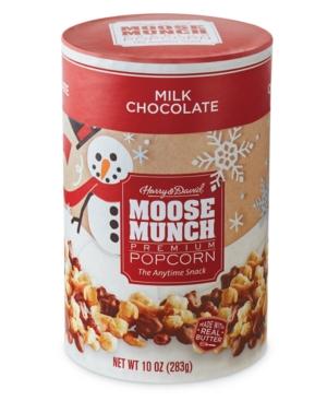 Harry & David Moose Munch Gourmet Popcorn Canister (Milk Chocolate)