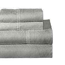 Printed 3-Pc. Twin XL Sheet Set, 300 Thread Count Cotton Sateen