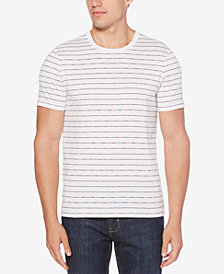 Perry Ellis Men's Striped Cotton T-Shirt