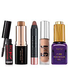 Customize your own 3-Pc. Trend Cosmetics Sampler with any $40 purchase from Anastasia Beverly Hills, Tarte, Stila & more!